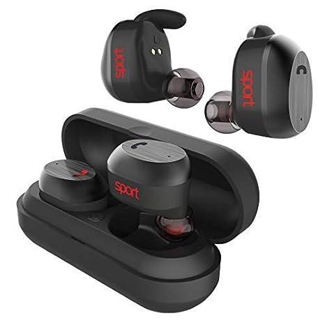 Elari Nanopods Sport, auriculares inalámbricos resistentes al agua con sonido estéreo de alta fidelidad para