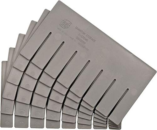 Quantum Storage - 10.9'' Wide x 6'' High Gray Bin Divider for Use with DG92060-6/Case (4 Cases)
