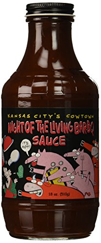 Cowtown Night Of The Living BBQ Sauce, 18 oz