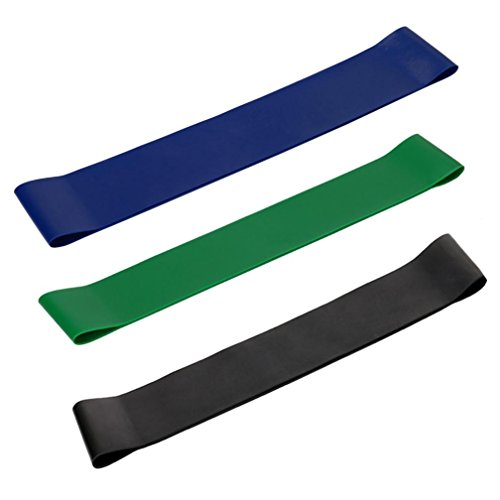 Corsion Resistance Loop Exercise Loops - Set of 2/3, Workout Bands for...