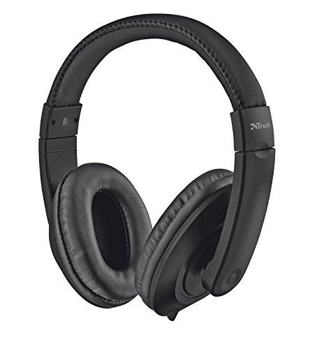 Trust Eno Casque Audio Confortable pour PC et PC Portable