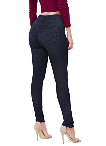 Bum Ladies Super Stretch Jeans (Blue) - 4