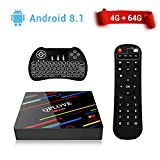 [ 2017 Model 4G/32GB Android 6.0 TV Box ] H96 Max Android TV