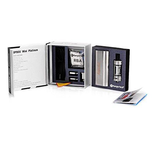 Auténtico Kanger Kangertech Topbox Mini Edición Platino 75W Kit de inicio (Subox Mini Edición mejorada) 100% Original, genuina Kangertech de vaporización ...