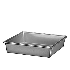 KitchenAid KBNSO08SQ Professional-Grade Nonstick Square Pan, 8 x 8 x 2""