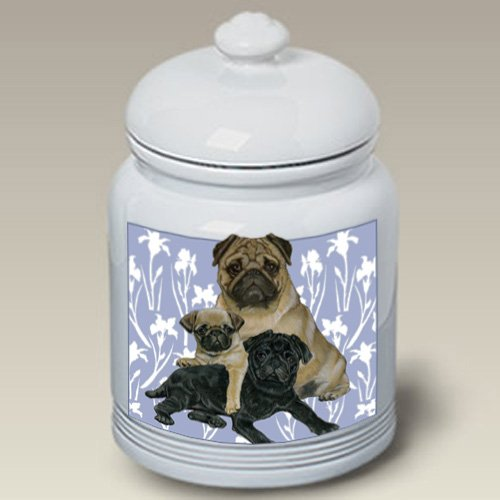 (Pugs - Best of Breed Treat Jars )