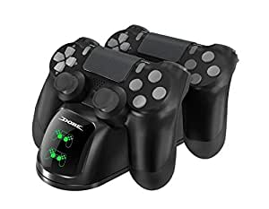PS4 Dual Shock Controller Dual USB Charging Charger Docking Station for PS4/PS4 Slim/PS4 Pro Controller