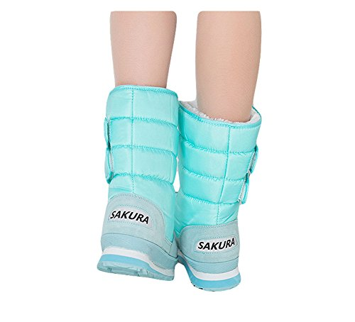 Ma Oversize Cold Weather Winter King Snow Boot Warm Blue Fashion Women's FdnBtqf