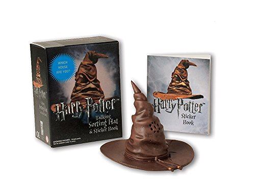 Harry Potter Talking Sorting Hat and Sticker Book: Which House Are You? (Miniature Editions)]()