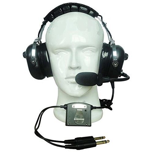 Aircraft Radio Noise (CRAZEDpilot CP-1ANR ACTIVE noise reduction headset for aircraft)