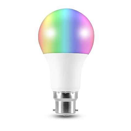 Kreema Bt App B22 Regulable Para Led Bombilla Lámpara Rgb Color lc1TFKJ