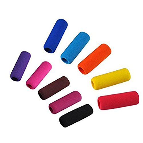 10Pcs Universal Skid Soft Foam Pencil Grips Finger-Protected For Office Class