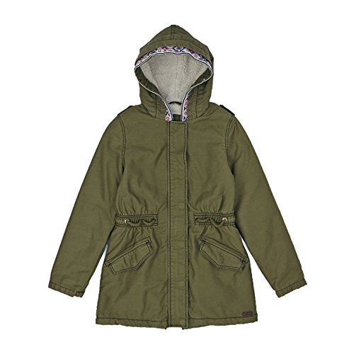 Roxy Jackets - Roxy Summer Storm Sherpa Lined Parka Jacket - Military Olive by Roxy