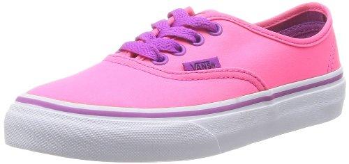 neon pur T Vans Pink Baskets Mode Bébé Mixte Authentic Rose Txzq7ad0