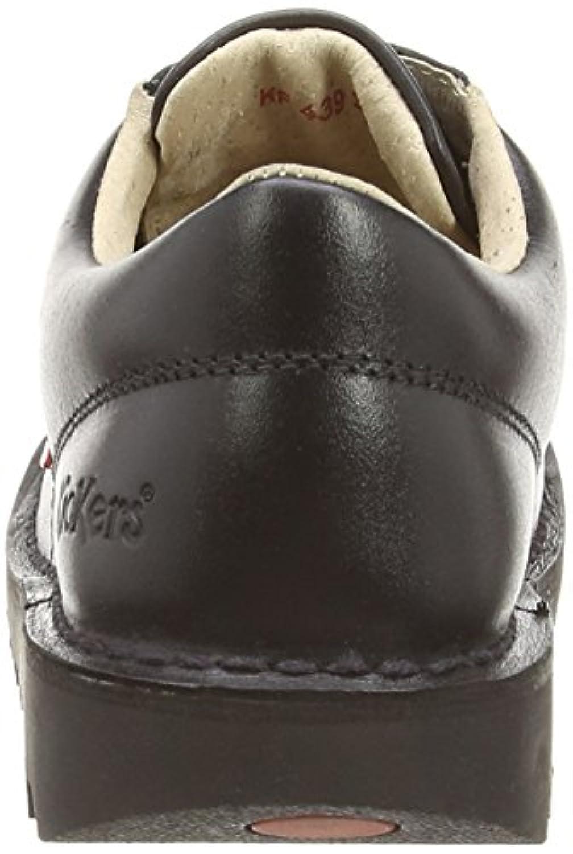 Kickers Kick Lo J Core Shoes Black 2.5 Child UK
