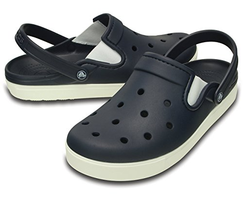 Crocs Citilane Clog, Sabots - Mixte Adulte Bleu marine/Blanc