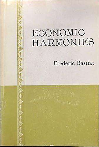 Economic Harmonies