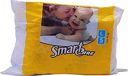 Smart Care DIAPER   L  5 Pieces