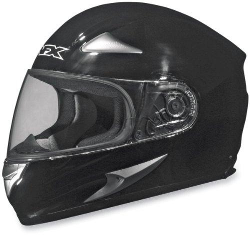 AFX FX-90 Solid Helmet , Size: XL, Primary Color: Black, Distinct Name: Black, Gender: Mens/Unisex, Helmet Type: Full-face Helmets, Helmet Category: Street 0101-3341 Afx Street Helmet
