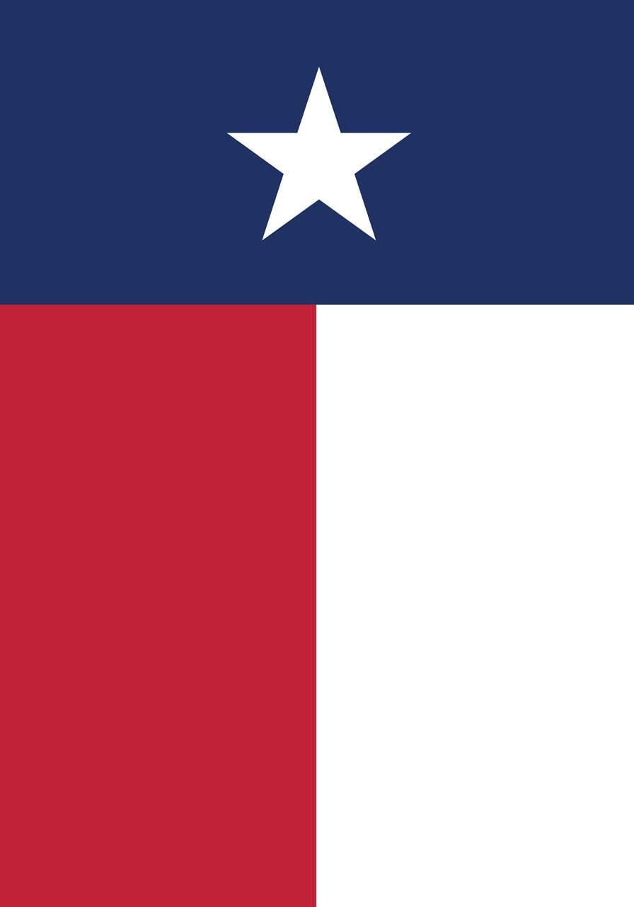 "Briarwood Lane State of Texas Garden Flag 12.5"" x 18"""