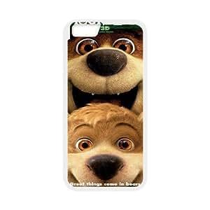 "UNI-BEE PHONE CASE For Apple Iphone 6,4.7"" screen Cases -Yogi Bear-CASE-STYLE 10"