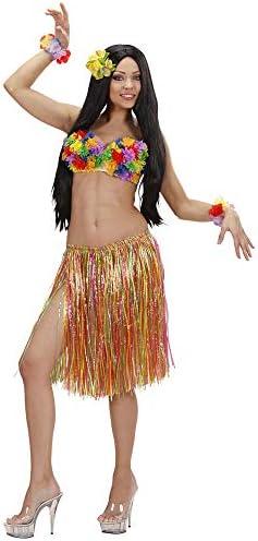 WIDMANN 3377M - Disfraz de hawaiana para mujer: Amazon.es ...