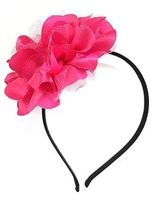 Removable Fascinators Hair Clip Head Hoop Headband Brooch Flower Derby Party Wedding
