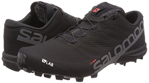 Unisex Speed Red lab Running black Trail Salomon 2 Black racing S Shoes Adults' 000 white 4w7xId