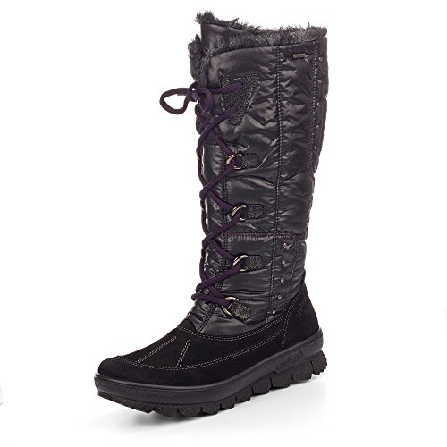 Legero - botas de nieve Mujer Negro - negro
