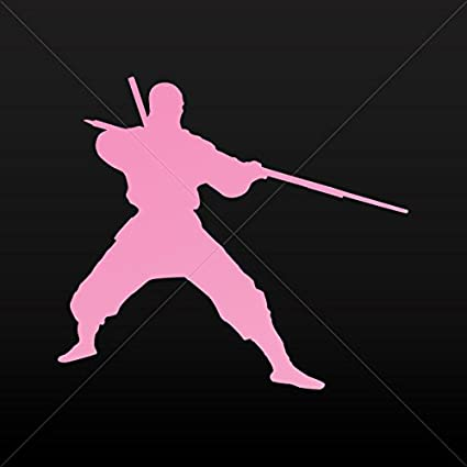 Amazon.com: Decal Stickers Martial Art Ninja Fighting Tablet ...
