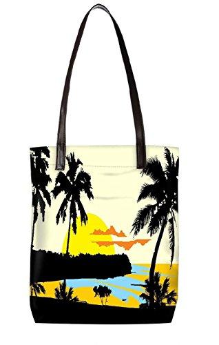 Snoogg Strandtasche, mehrfarbig (mehrfarbig) - LTR-BL-5407-ToteBag