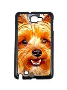 Yorkshire Terrier Yorkie Dog Closeup Samsung Galaxy Note 2 Note II N7100 Case - For Samsung Galaxy Note 2 Note II N7100