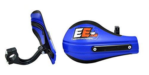 Enduro Engineering Composite Mount Moto Roost Deflector Handguards Blue 53-223