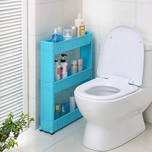 バスルーム棚取り外し可能なマルチレイヤバスルームベッドルームリビングルームキッチン LCSHAN (Color : Three Layers)