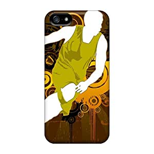 New Style Case Cover Basketball Vector Wallpaper Compatible With Iphone 5/5s Protection Case