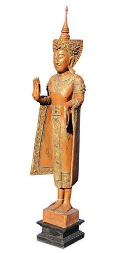 Asien Lifestyle asien lifestyle wochentag buddha montag figur holz buddhafigur