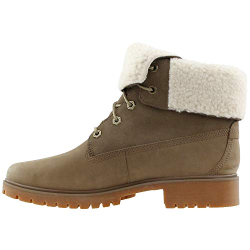 Teddy WP Timberland Jayne F Light Boot Fleece Womens Brown Nubuck D aqRatS