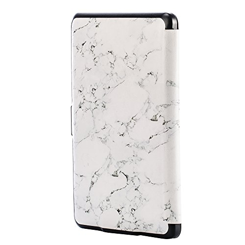 Kindle Paperwhite Case, NEESI PU Leather Smart The Book Style Cover with Auto Sleep/Wake Case for All Kindle Paperwhite (Fits All Versions: 2012, 2013, 2014 and 2015 All 300 PPI Version) (Style Rihanna)