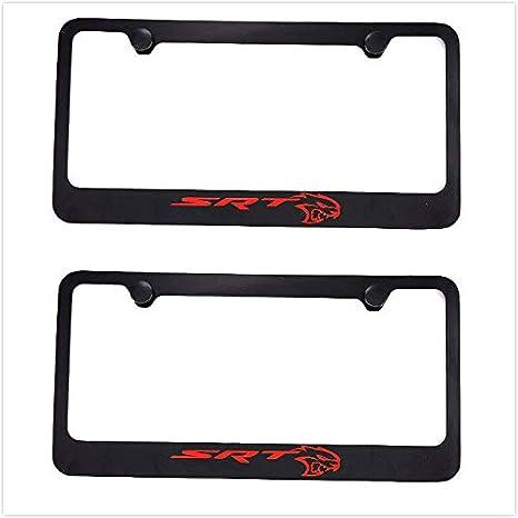 Dodge Charger Brushed Steel License Plate Frame Frames