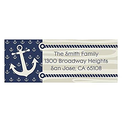 Amazon com : Custom Ahoy - Nautical - Personalized Party