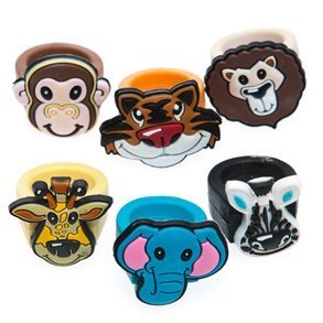 Zoo Animal Rubber Ring