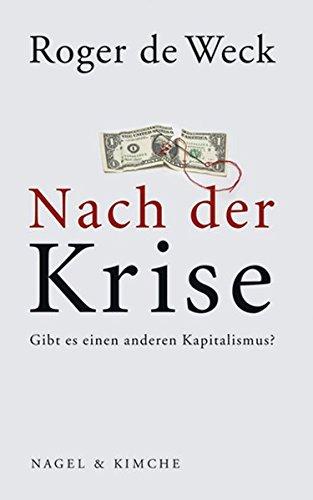 Nach der Krise: Gibt es einen anderen Kapitalismus?