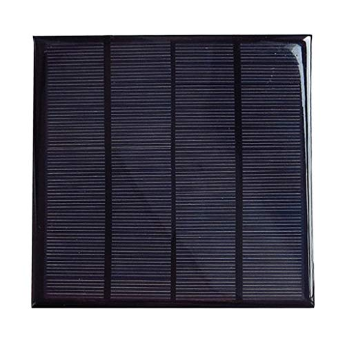 Homyl Cargador Solar De Panel Solar De Alta Eficiencia Cargador Solar De 12V 3W