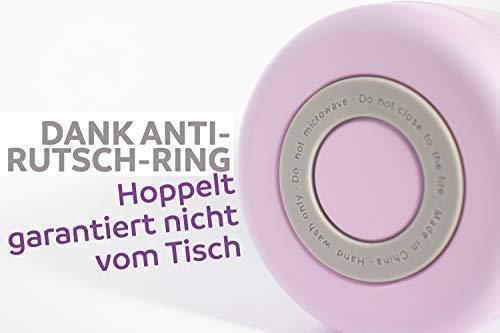 BISOU MAMI Thermoskanne Anti-Rutsch-Ring am Boden