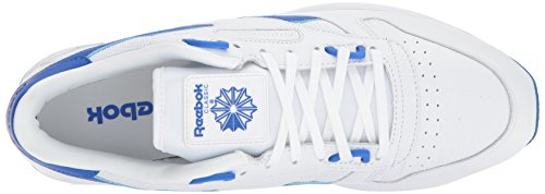 Reebok Heren Cl Leer 2,0 Fashion Sneaker Wit / Vitale Blauw
