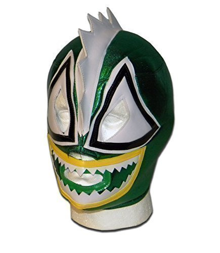 WRESTLING MASKS UK Men's Raptor Lucha Libre Wrestling Mask One Size Multicoloured by Wrestling
