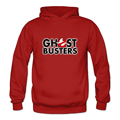Price comparison product image Crystal Men's Ghost Busters Logo Long Sleeve T-shirt Red US Size XL