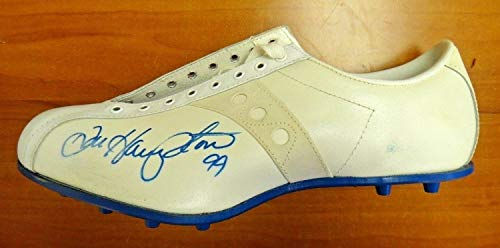 Dan Hampton Autographed Signed Football Cleat Football HOF Chicago Bears Memorabilia - JSA Authentic