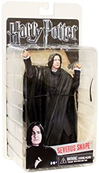 Harry Potter Deathly Hallows 7 Inch Action Figure Severus Snape Toy Figures at amazon