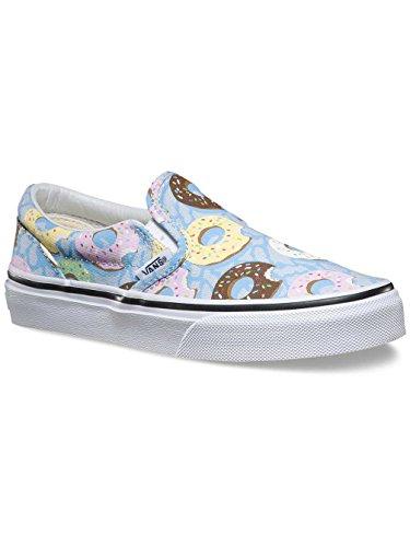 Vans Classic, Zapatillas de estar Por Casa Unisex Niños Azul Claro / Multicolor